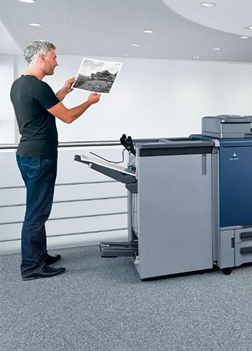 Escáneres e impresoras